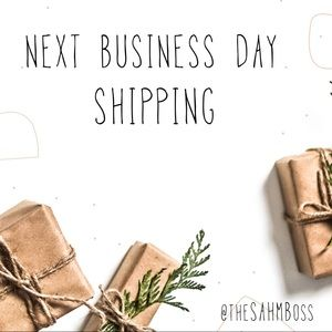 NEXT BUSINESS DAY SHIPPING